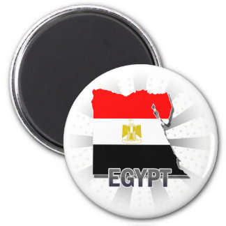 Egypt Flag Map 2 0 Magnet