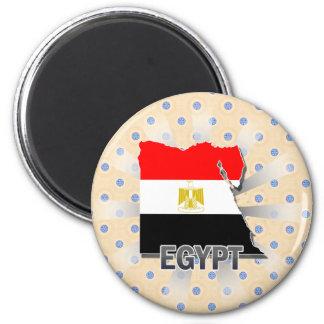 Egypt Flag Map 2 0 Refrigerator Magnets