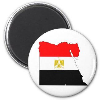 Egypt Flag Map full size Refrigerator Magnet