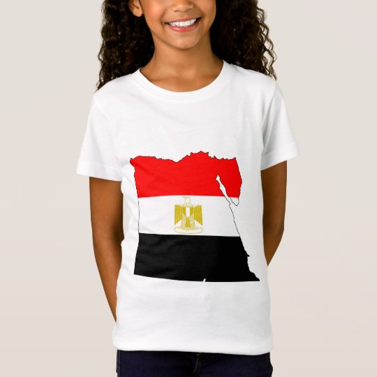 Egypt Flag Map full size T-Shirt