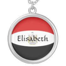 Egypt Flag   Name Necklace