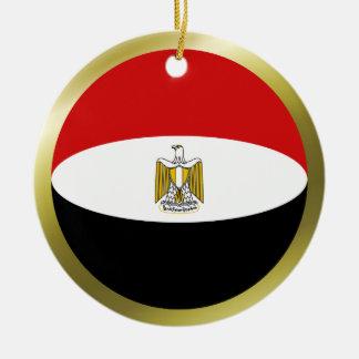Egypt Flag Ornament