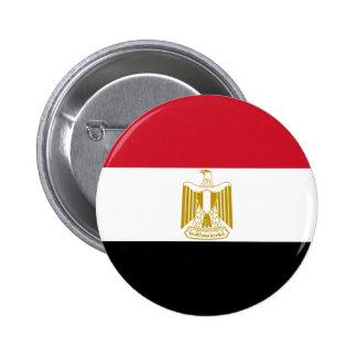 Egypt Flag Pinback Button