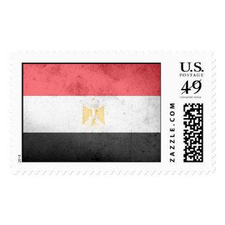 Egypt Flag Postage Stamps