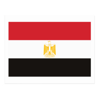Egypt Flag Postcard