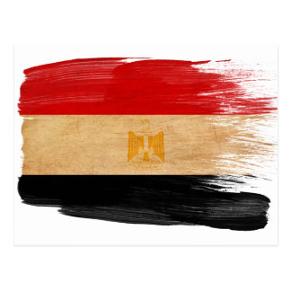 Egypt Flag Postcards