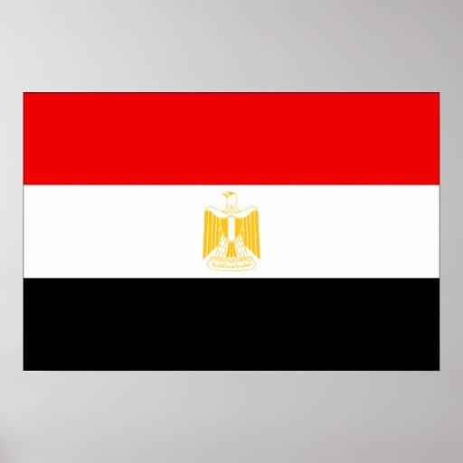 Egypt Flag Poster