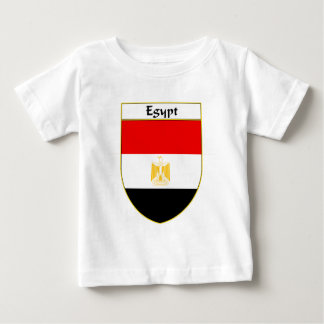Egypt Flag Shield Baby T-Shirt