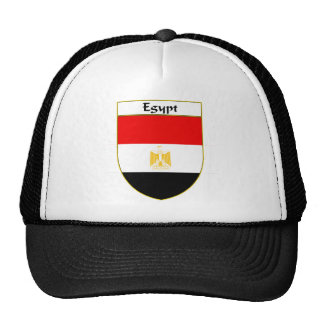 Egypt Flag Shield Trucker Hat