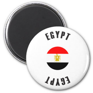 Egypt Flag Wheel Magnet