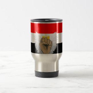 Egypt Freedom 2011_ Travel Mug