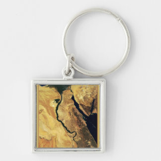 Egypt from outer space keychain