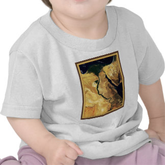Egypt from outer space t-shirt