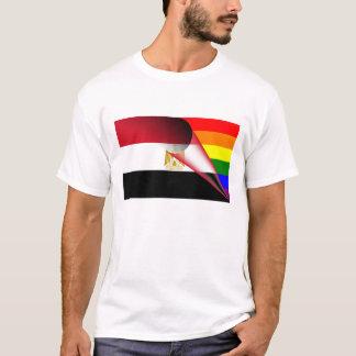 Egypt Gay Pride Rainbow Flag T-Shirt