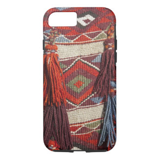 Egypt, Giza. Camel blanket at the Pyramids of iPhone 7 Case