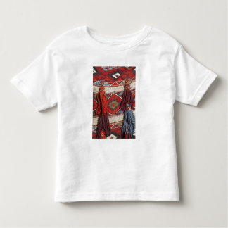 Egypt, Giza. Camel blanket at the Pyramids of Toddler T-shirt