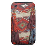 Egypt, Giza. Camel blanket at the Pyramids of Tough iPhone 3 Cover