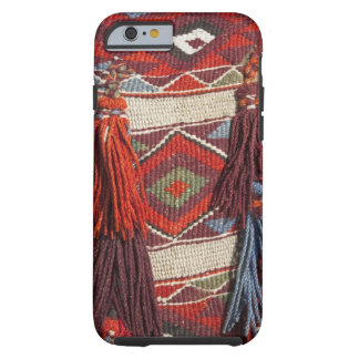 Egypt, Giza. Camel blanket at the Pyramids of Tough iPhone 6 Case