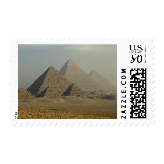 Egypt, Giza, Giza Pyramids Complex, Giza Plateau Postage