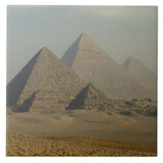 Egypt, Giza, Giza Pyramids Complex, Giza Plateau Ceramic Tile