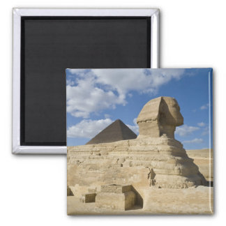 Egypt, Giza. The great Sphynx rises above the 2 Magnet