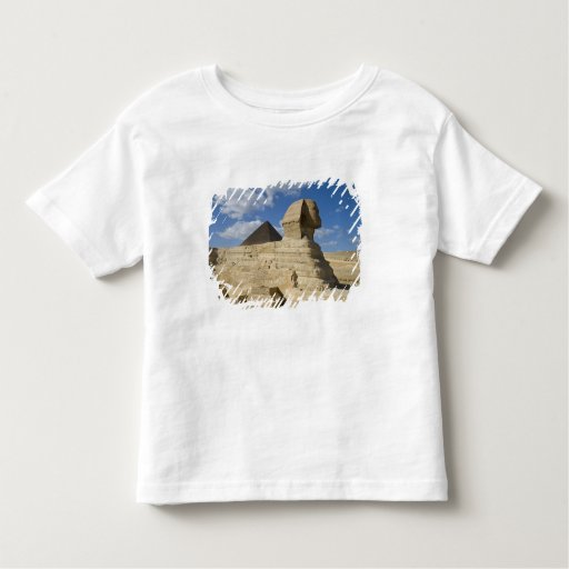 Egypt, Giza. The great Sphynx rises above the 2 Toddler T-shirt