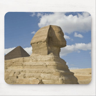 Egypt, Giza. The great Sphynx rises above the Mouse Pad