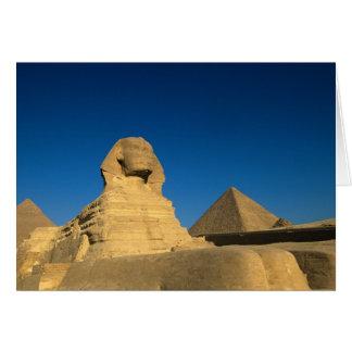 Egypt, Giza, The Sphinx, Old Kingdom, Unesco Card