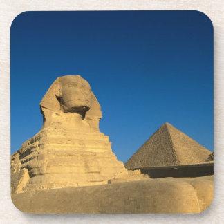Egypt, Giza, The Sphinx, Old Kingdom, Unesco Drink Coaster
