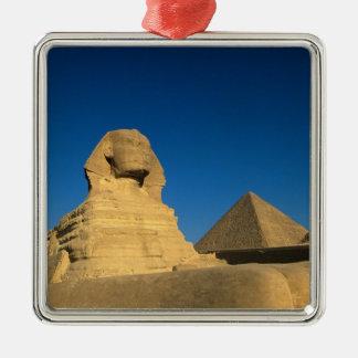 Egypt, Giza, The Sphinx, Old Kingdom, Unesco Metal Ornament