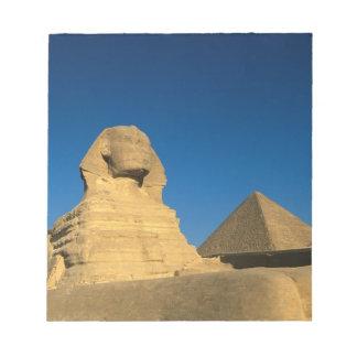 Egypt, Giza, The Sphinx, Old Kingdom, Unesco Notepad