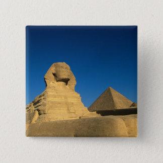 Egypt, Giza, The Sphinx, Old Kingdom, Unesco Pinback Button