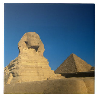 Egypt, Giza, The Sphinx, Old Kingdom, Unesco Tile