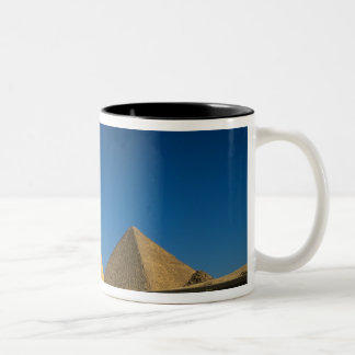 Egypt, Giza, The Sphinx, Old Kingdom, Unesco Two-Tone Coffee Mug