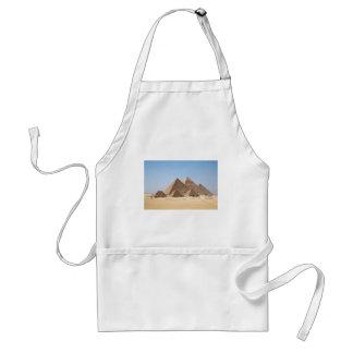 Egypt-Gizah Pyramids Adult Apron