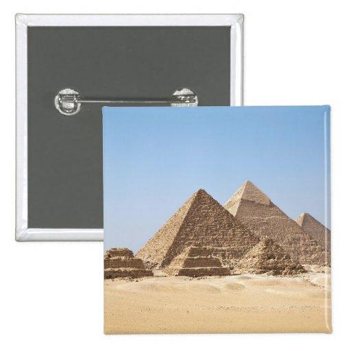 Egypt-Gizah Pyramids Pinback Buttons