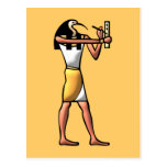 Egypt God Thot egypt god Post Card