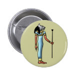 Egypt goddess Bastet egypt goddess 2 Inch Round Button