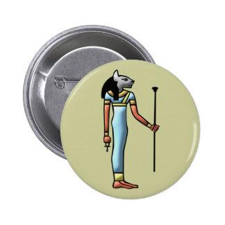 Egypt goddess Bastet egypt goddess Button