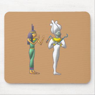 Egypt Gods Isis Osiris egypt gods Mouse Pad