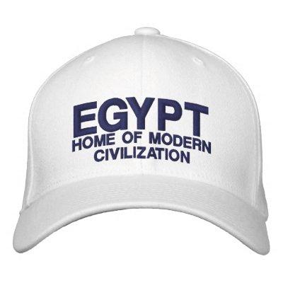 EGYPT HAT EMBROIDERED BASEBALL CAP