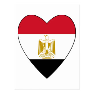 Egypt Heart Postcard