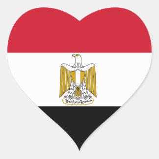 egypt heart sticker
