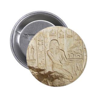 Egypt hieroglyph button