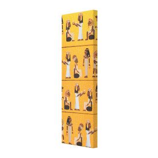 Egypt Hieroglyphs Stretched Canvas Prints