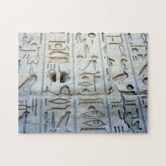 egypt hieroglyphs puzzle