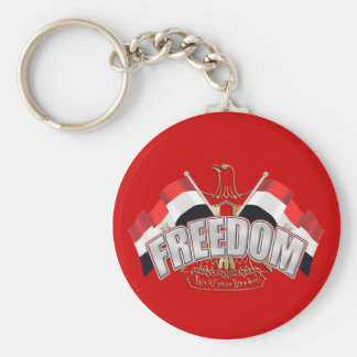Egypt is Free At Last Egypt Freedom Gift Basic Round Button Keychain