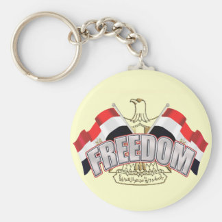 Egypt is Free At Last Egypt Freedom Gift Key Chain
