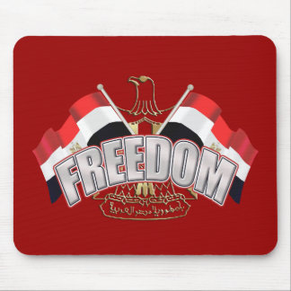 Egypt is Free At Last Egypt Freedom Gift Mouse Pad
