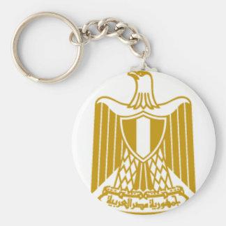 Egypt Basic Round Button Keychain